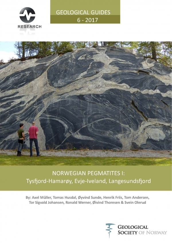 NORWEGIAN PEGMATITES I: Tysfjord-Hamarøy, Evje-Iveland, Langesundsfjord