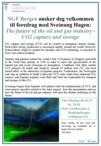The future of the oil and gas industry. Bergen 30.10.19