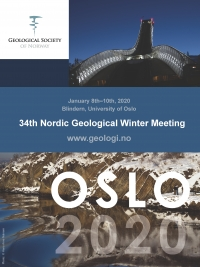 34th Nordic Geological Winter Meeting 2020